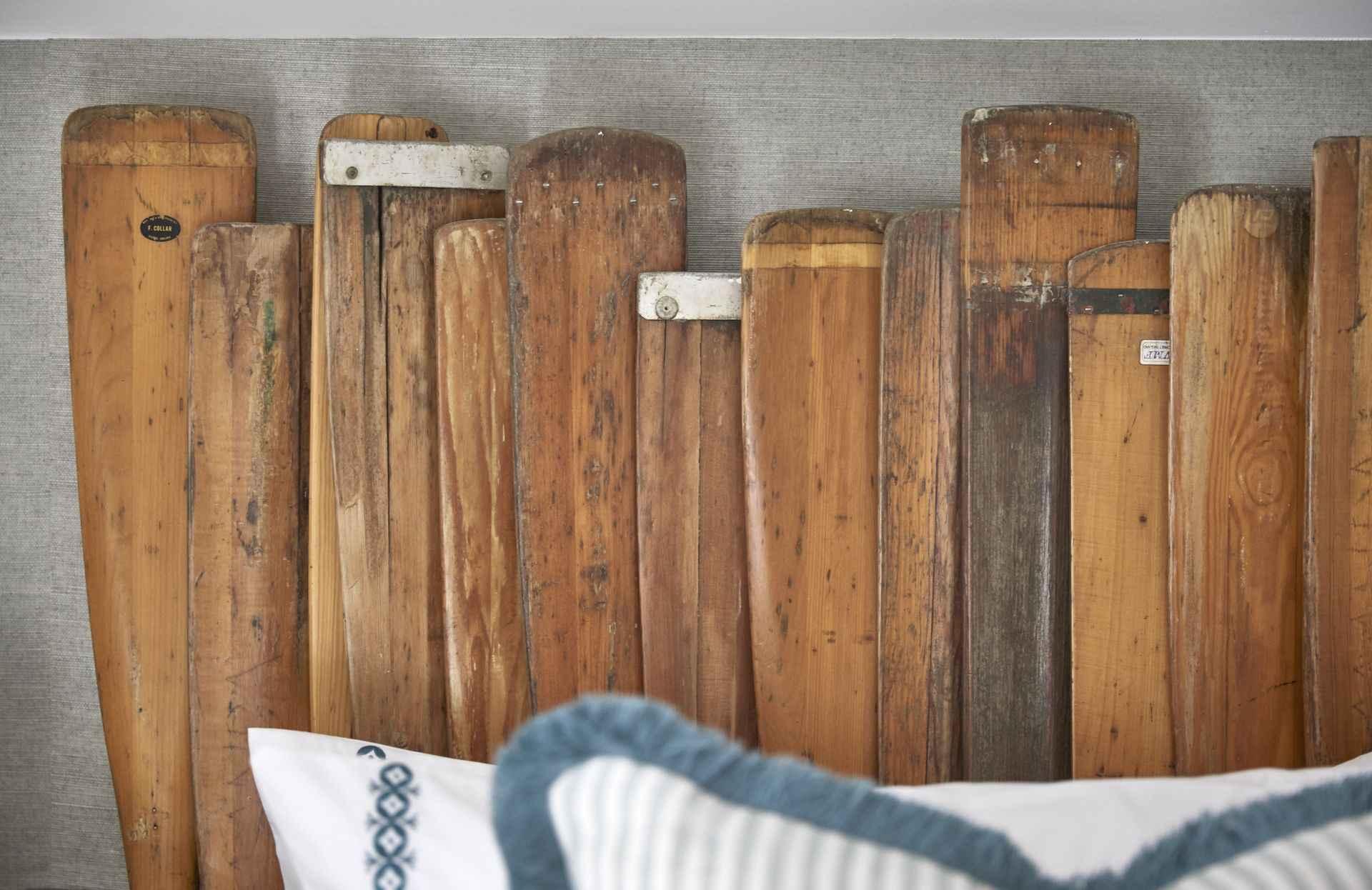 Mountain ash house oar head board